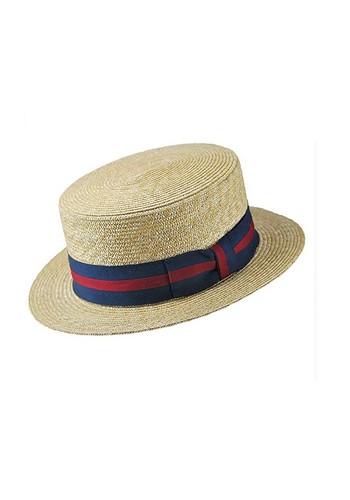 chapeau-canotier-bandeau-rayures