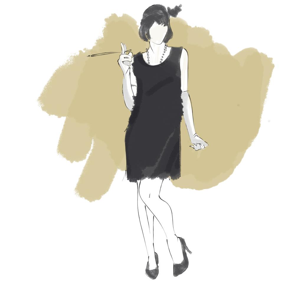 robe femme années 20