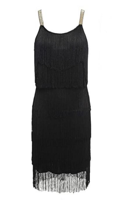 robe-frange-noir-annees-20