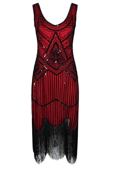 robe-rouge-franges-annees-20